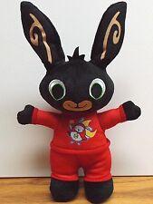 Fisher Price/Mattel-Bedtime Bing suave conejo en rojo Hoppity Voosh Pijamas