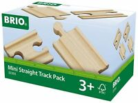 Brio MINI STRAIGHT TRACK PACK Wooden Toy Train BN