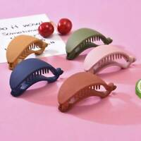 Fashion Women's Banana Clip Hairpin Hair Clips Catch Ponytail Hair Accessories~