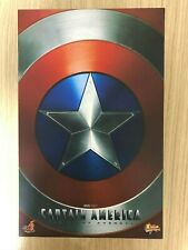 Hot Toys MMS 156 The First Avenger Captain America Chris Evans 12 in Figure USED