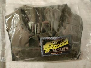 Voodoo F.A.S.T. Tactical Plate Carrier Vest Olive Drab Green L/XXL