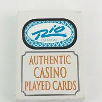 RIO Hotel Casino Las Vegas Retired Deck of Poker Sized Playing Cards -COMPLETE-