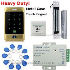 Waterproof RFID Card Password Golden Door Access Control+ Electric Magnetic Lock