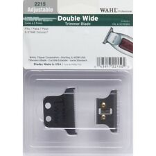 WAHL BLADE 2215 2HOLE DOUBLE WIDE(T-WIDE) TRIMMER BLADE Replacement