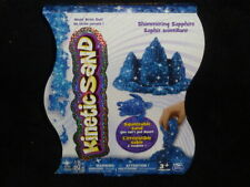 Kinetic Squeezable Play Sand 1lb Shimmering Sapphire Never Dries Out (Blue)