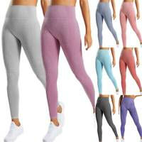 Women Vital Seamless Yoga Pants Leggings High Waisted Sports Gym Fitness Stretch
