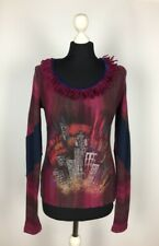 Save The Queen! Womens Jumper 70% Lana 30% Nylon Size L