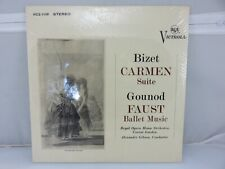 Bizet Carmen Suite Gounod Faust Gibson RCA LP VICS-1108 New Old Stock SEALED