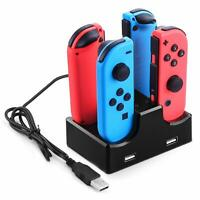 Charging Station for Nintendo Switch Joy-con Controllers, Joy Con Charging Dock