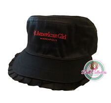 American Girl CL MY AG MINNEAPOLIS RUFFLE CAP for Girls Hat Adjustable MN NEW