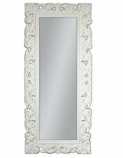 XXXL MIROIR MURAL REPRO BAROQUE ANTIQUE rectangulaire replike 180 x 90 Blanc