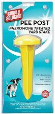 Simple Solution Outdoor Potty Dog Puppy Garden Toilet Training Aid - Pee Post