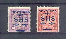 YUGOSLAVIA --MI# 64/65 -CV € 240 -- * MH VF --SIGNED