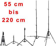 Foto Lichtstativ Lichtständer Licht Stativ Beine Ausziehbar 55 bis 220 cm > 2m