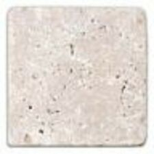 White 10 x 10 Travertine Stone Wall & Floor Tiles