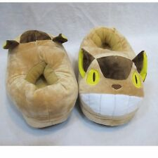 Anime Studio Ghibli My Neighbor Totoro Bus Plush Winter Warm Indoor Slippers New