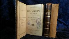 Histoire de la Réunion de la Lorraine à la France-d'Haussonville 1860 ancien