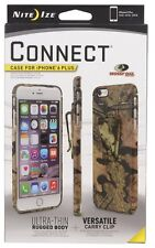Nite Ize CellPhone Connect Case For IPhone 6 Plus/6S Plus Mossy Oak CNTI6P-22-R8