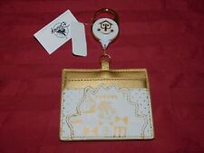 Disney Park It's A Small World Clock Loungefly Wallet ID Card Holder New