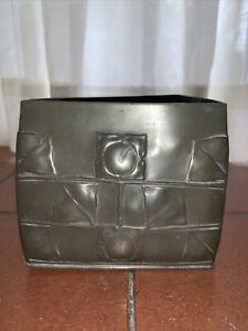 Tudric pewter biscuit box by Archibald Knox For Liberty and Co. Art Nouveau
