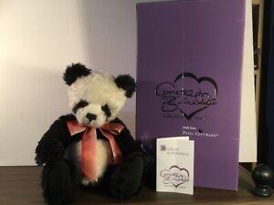 "Annette Funicello 15"" Pandamonium Mohair Panda Bear HTF!"