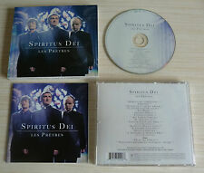 CD ALBUM SPIRITUS DEI - LES PRETRES VERSION 17 TITRES 2010 FOURREAU