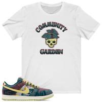 COMMUNITY GARDEN Shirt to match Nike SB Dunk Low Lemon Wash travis scott supreme