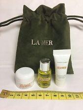 La Mer~Renewal Oil 5ml~moisturising Creme 3.5ml~Eye Balm Intense 3ml~Pouch FRESH