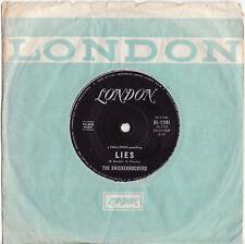 THE KNICKERBOCKERS - LIES  Ultrarare 1965 Aussie BEAT/GARAGE Single Release! EX+