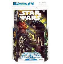 """Universo de Star Wars Quinlan Vos & comandante ampliado Faie 3.75"""" Figuras de Juguete Rara"""
