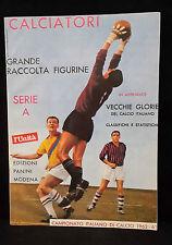 ALBUM FIGURINE CALCIATORI PANINI RISTAMPA L'UNITA' ANNO 1962/63