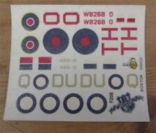 Havoc Intruder / Boston Mk.III Bomber  Frog Decals  1/72 Scale  Unused F208