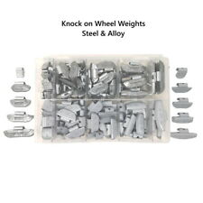 More details for wheel weights zinc & alloy oe quality knock on hammer type assortment 5g to 40g