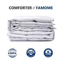 Luxury Premium Goose Down feather Comforter Duvet Cover Insert Queen King Size