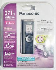 NEW Panasonic RR-US490 Digital Recorder 271 Hours Zoom Mic EVP Diktiergerät