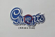 New York  Giants  NFL Sport Logo Embroidery Patch Iron and sewing on Clothes