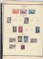 finland 1941-42 stamps page ref 18076