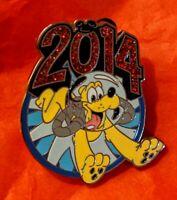 2014 DLR WDW Pluto Disney Mystery Pin 99746