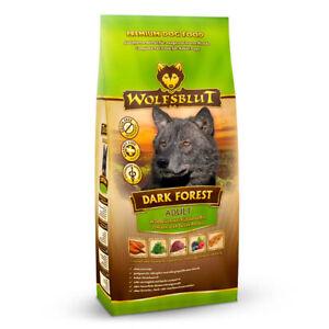 Wolfsblut Dark Forest 15 kg Hundefutter mit Wildfleisch & Süßkartoffeln