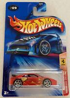 2004 Hotwheels Ferrari F355 355 Challenge Red Ferrari Heat! Mint! MOC!