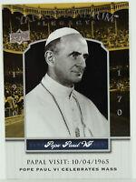 2008 UD Yankee Stadium Legacy #3407 Pope Paul VI