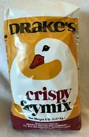 Drakes Crispy Fry Mix 5 LBS Best By: 10/7/21 Lot of 1