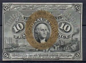 USA Fr 1245 10 Cents 2nd Issued UNC Rare