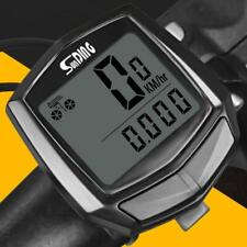 Waterproof Bicycle LCD Computer Speedometer Cycling Wired Odometer Stopwatch