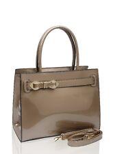 Women's Poppy Flower Designer Patent Tote Bags Shoulder Handbags 1608 150355