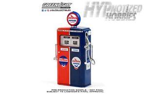 GREENLIGHT 1:18 VINTAGE GAS PUMP 1954 TOKHEIM 350 TWIN CHEVRON SUPREME 14090-C