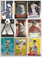 2001-2013 Roger Clemens Mixed Lot 9 Different Cards Red Sox Yankees Astros