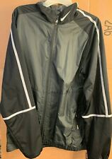 Nike Golf Jacket - Mens large - Black and Silver - New