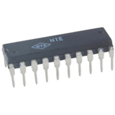 NTE Electronics NTE7004 IC-FREQUENCY SYNTHESIZER FOR TV/VCR VCC=12V 20-LEAD DIP