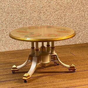 1:6 Dollhouse miniature Victorian side table - Barbie scale